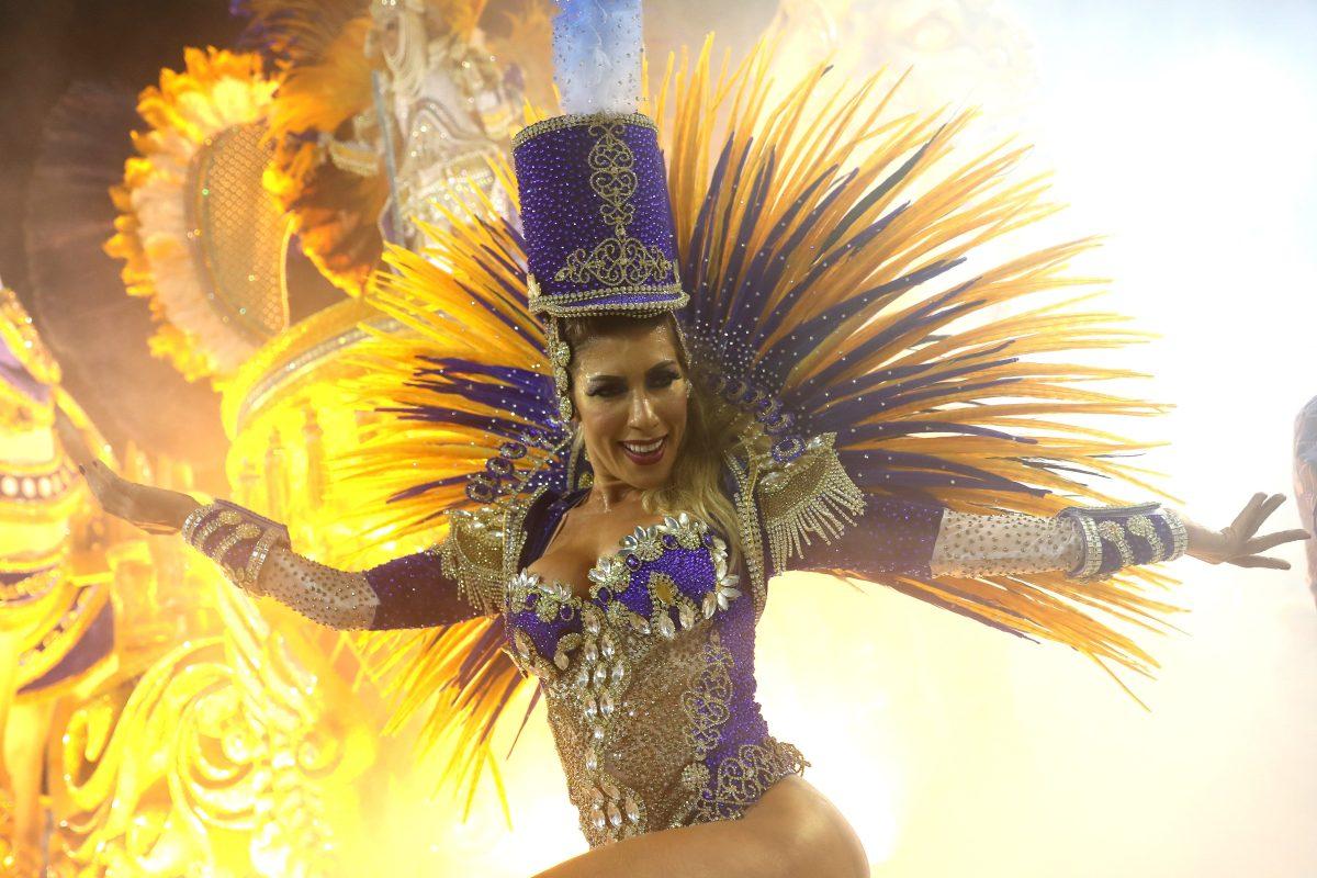 Fotogalería: Color y ritmo en el Carnaval de Brasil