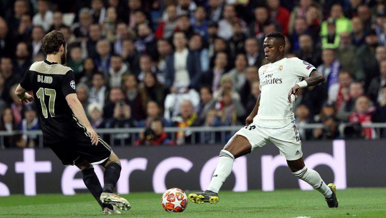 Vinicius, el jugador del Real Madrid que promete un futuro brillante. (Foto prensa Libre: EFE)