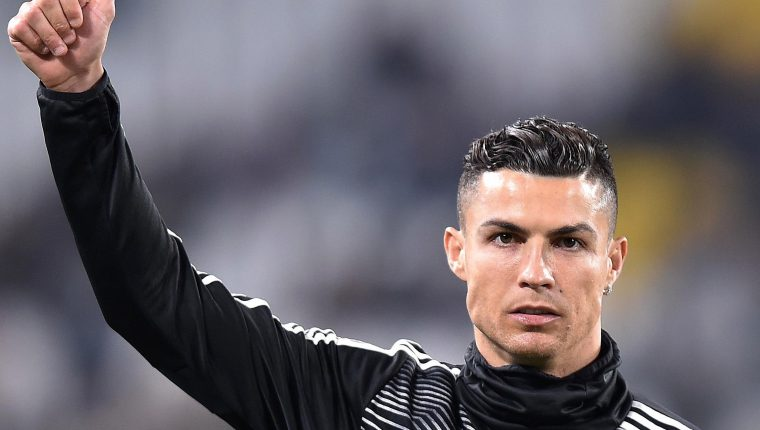 El delantero portugués Cristiano Ronaldo es la gran esperanza de la Juventus para avanzar a cuartos de final. (Foto Prensa Libre: EFE)