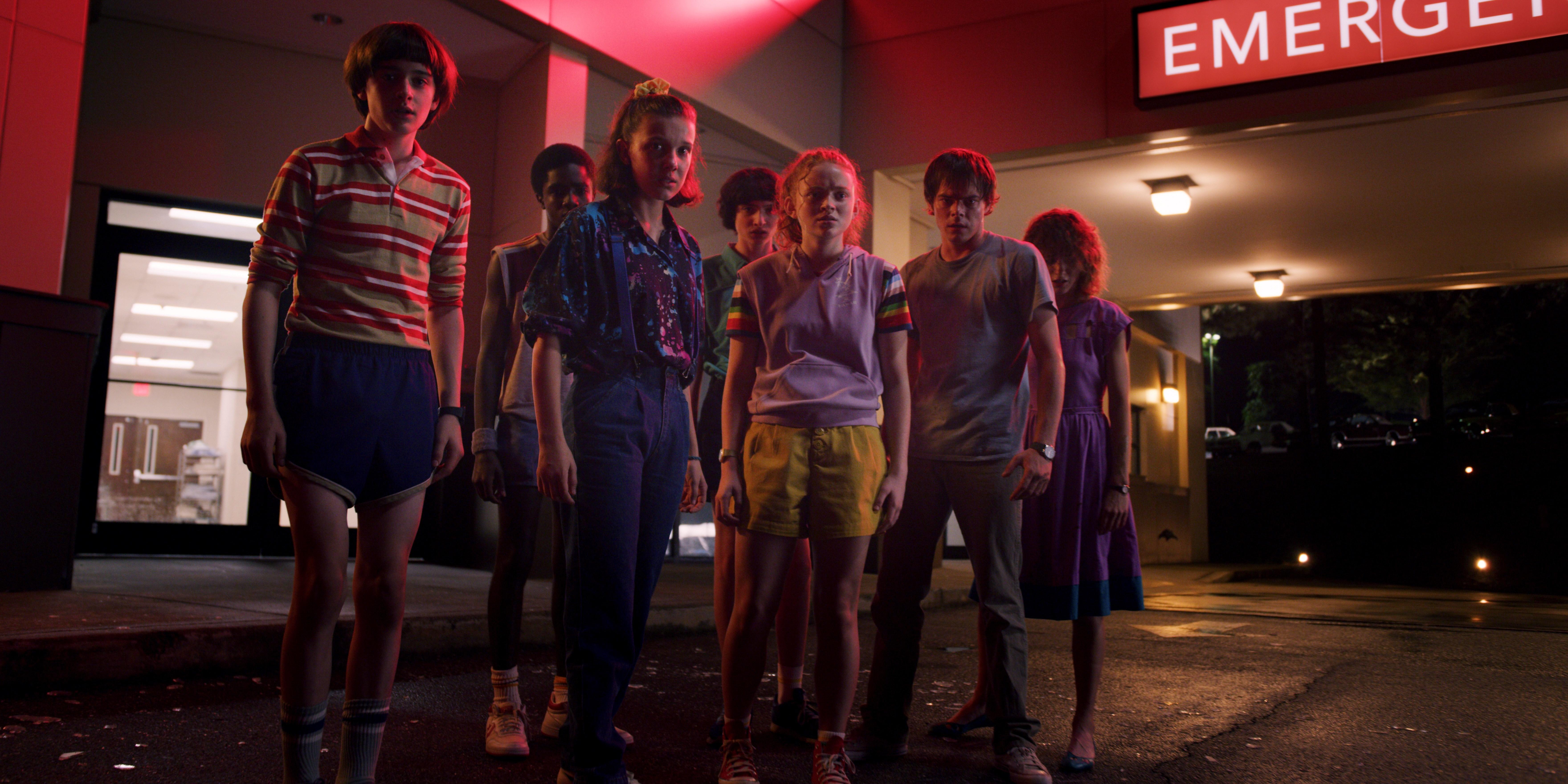 """""""Un verano puede cambiarlo todo"""". Ese es el lema del primer tráiler de la tercera temporada de """"Stranger Things"""". (Foto Prensa Libre: Netflix)"""