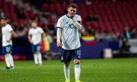 Lionel Messi jugó frente a Venezuela, perdió y se lesionó. (Foto Prensa Libre: EFE)