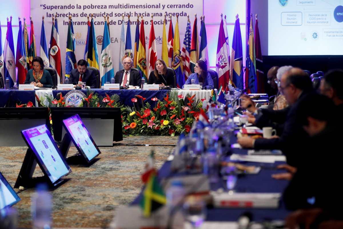 Guatemala pide que la asamblea general de la OEA, de la que será anfitrión en noviembre, sea virtual