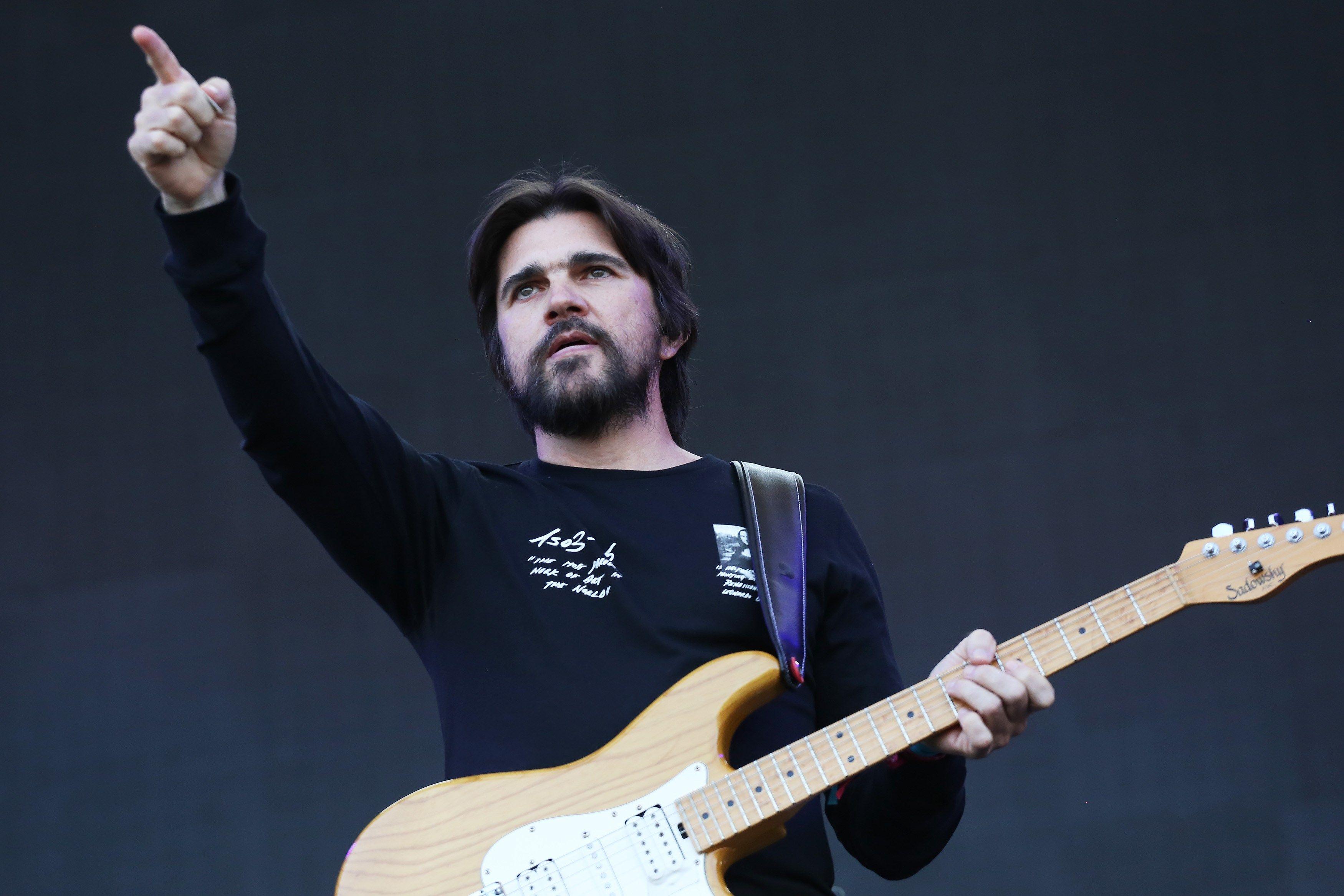 Juanes lleva su rock a un nuevo público (Foto Prensa Libre: EFE).
