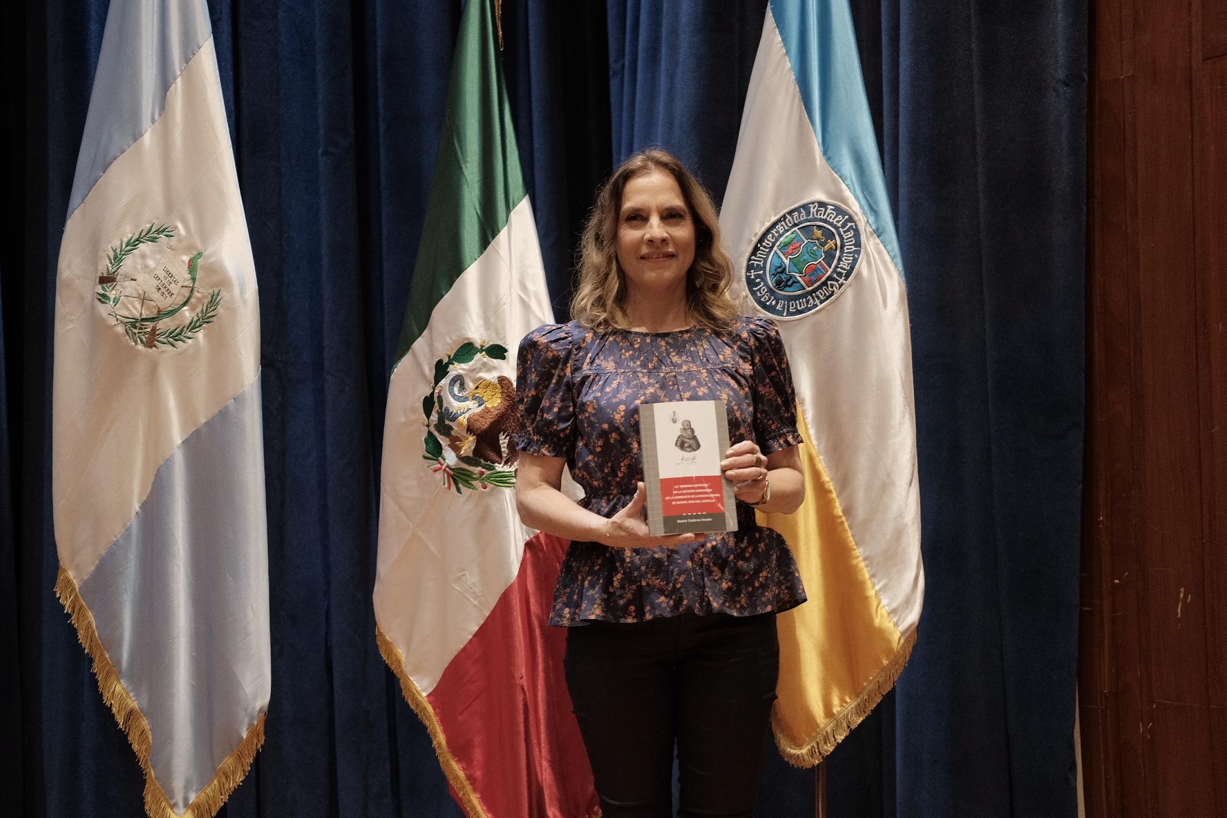 Beatriz Gutiérrez Mueller, escritora de México, visitó Guatemala (Foto Prensa Libre: J. Ochoa).