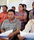 Los alcaldes comunitarios de Xelajú demandan reformar 52 artículos del POT. (Foto Prensa Libre: Mynor Toc)