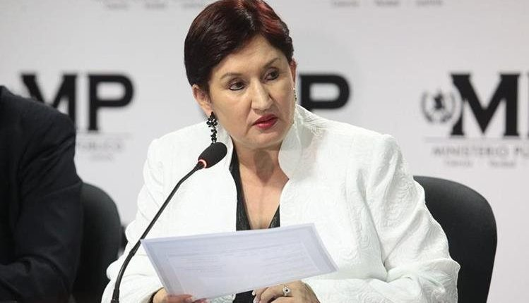 Thelma Aldana, exfiscal General del Ministerio Público. (Foto: Hemeroteca PL)