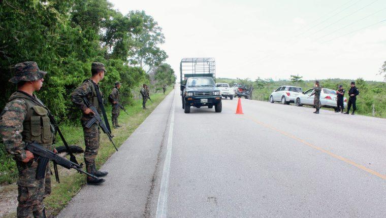 Petén, donde fue capturado el supuesto narco, es uno de los departamentos que sirven de enlace entre bandas internacionales de narcotráfico, dicen autoridades. (Foto referencial: Hemeroteca PL)