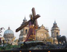 El Nazareno Redentor del Mundo del Barrio El Gallito zona 3, cumple 70 años de haber sido esculpido por Francisco Tánchez.