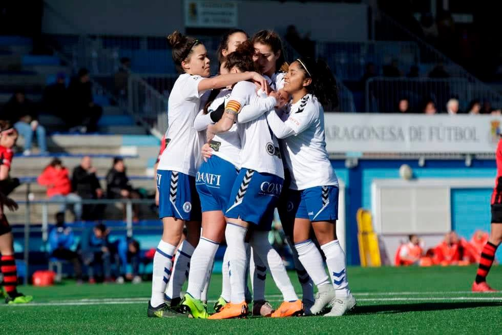 Madelyn Ventura ha colaborado con goles en los últimos dos triunfos del Zaragoza CFF. (Foto Prensa Libre: Cortesía)