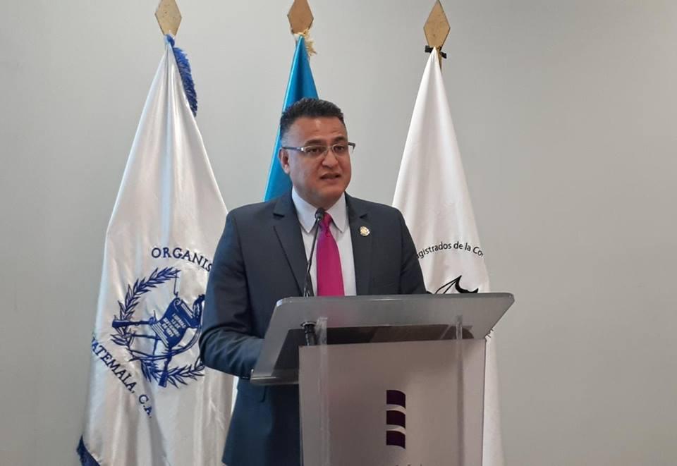 Roberto Mota, exdirector de seguridad del Organismo Judicial. (Foto Prensa Libre: OJ)