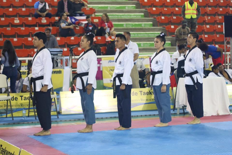 Selección de taekwondo logra 5 boletos para los Juegos Panamerianos de Lima 2019