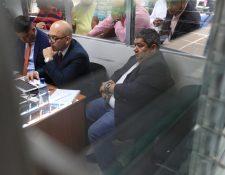 Luis Gómez, exvicepresidente de la Asociación de Empresas de Autobuses Urbanos, es sindicado de cuatro  delitos. (Foto Prensa Libre: Carlos Hernández)