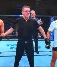 'El Guapo' Gutiérrez celebró su primer triunfo en la UFC. (Foto Prensa Libre: )