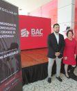 Representantes de Honda, BAC Credomatic y Autoclub.GT en la presentación dela plataforma