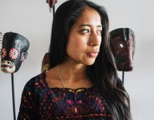 María Mercedes Coroy ha destacado  en el cine guatemalteco.  Su éxito despegó en el 2015 con Ixcanul.  (Foto Prensa Libre: La Casa de Producción).
