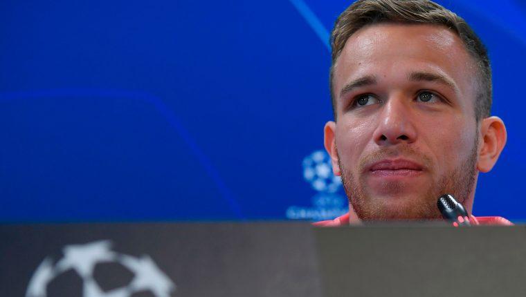 El brasileño Arthur Melo es uno de los hombres de confianza del técnico Ernesto Valverde. (Foto Prensa Libre: AFP)