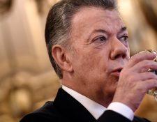 Juan Manuel Santos, expresidente de Colombia. (Foto Prensa Libre: Hemeroteca PL)
