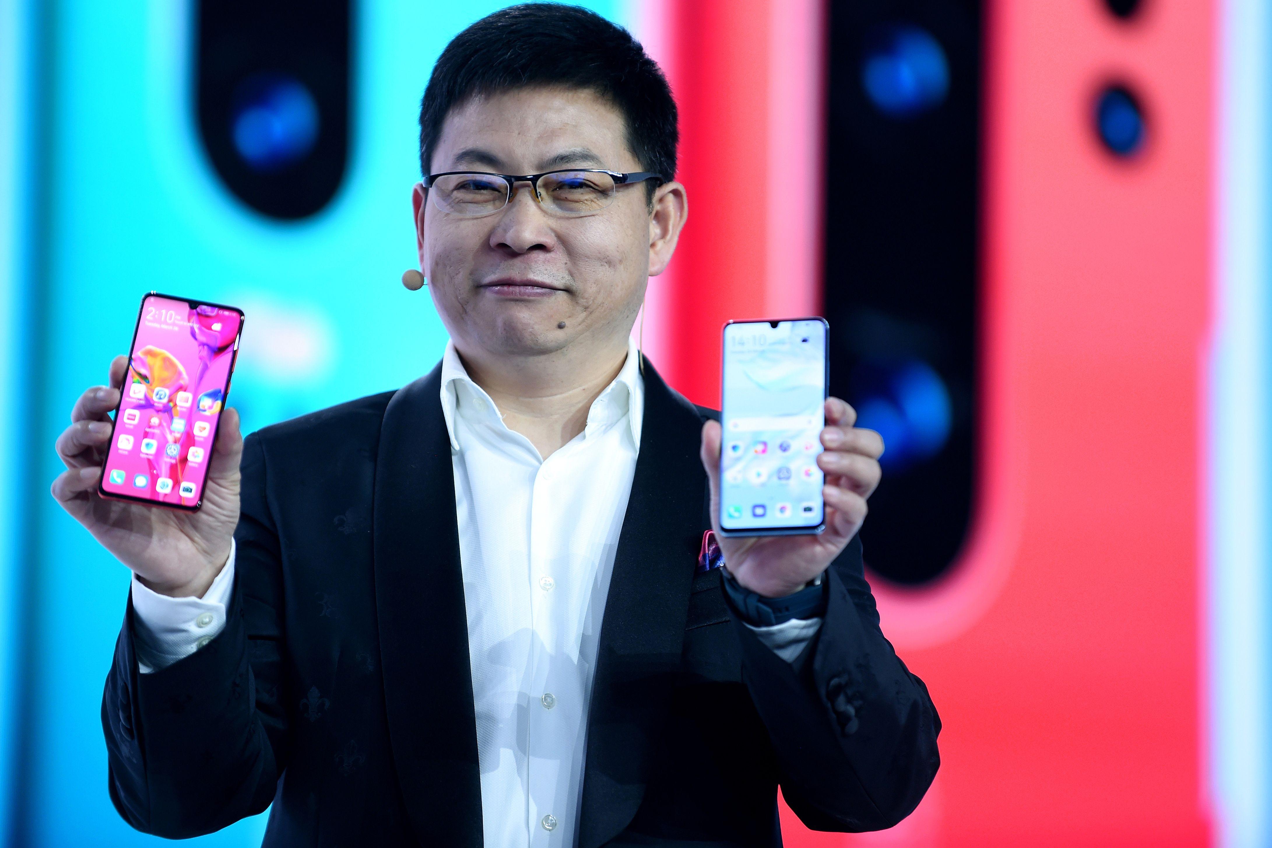 Richard Yu, el CEO de Huawei. (Foto Prensa Libre: Hemeroteca PL)