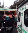 Bomberos Municipales Departamentales atendieron la emergencia. (Foto: BMD)