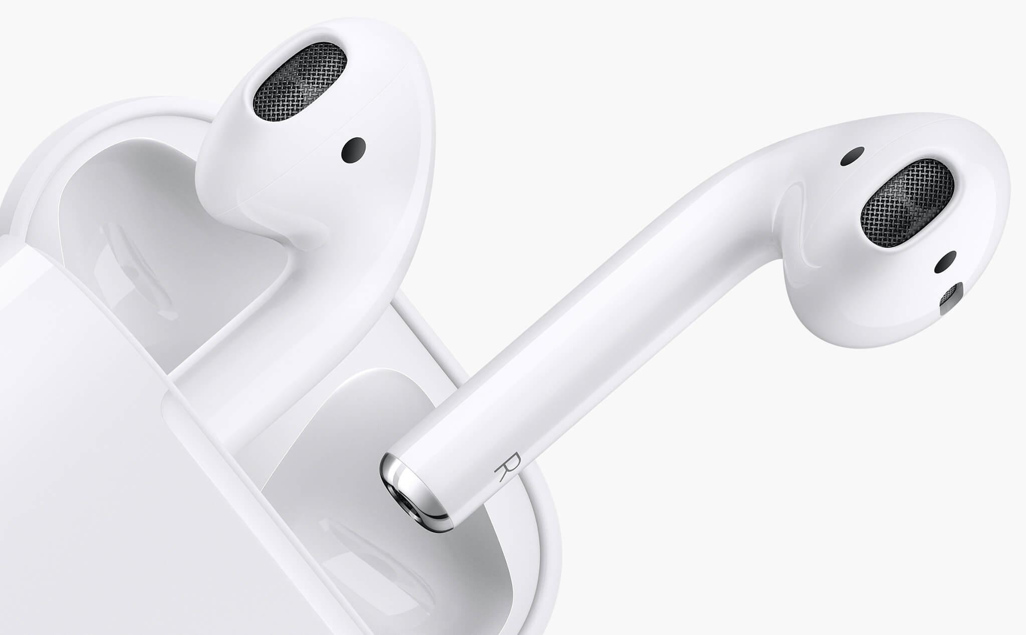 Los AirPods, audífonos inalámbricos de Apple, funcionan con radiofrecuencias. (Foto Prensa Libre: Apple).