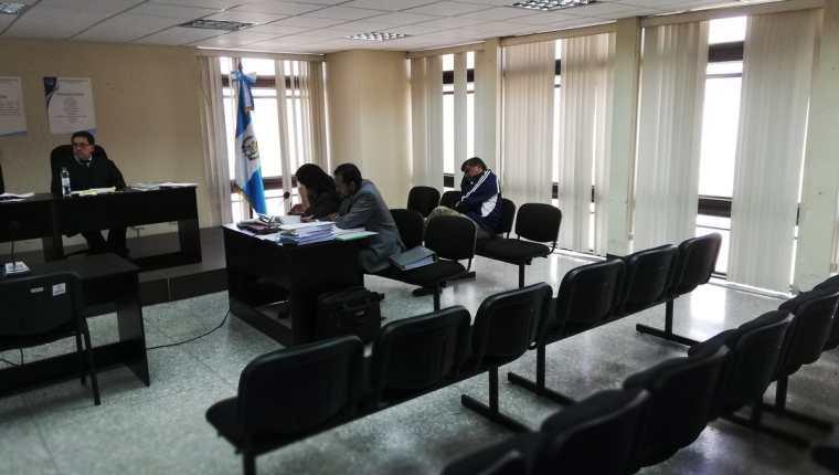 El exalcalde de Chinautla, Arnoldo Medrano, enfrenta segundo juicio. (Foto Prensa Libre: Kenneth Monzón)