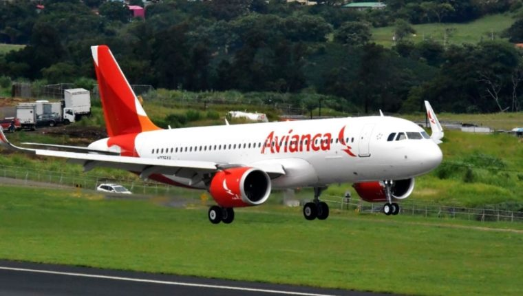 Avianca anunció que a partir del 1 de junio del 2019 dejará de volar  desde Guatemala hacia  Tegucigalpa, Nueva York, Chicago y Orlando. (Foto Cortesía de Avianca)