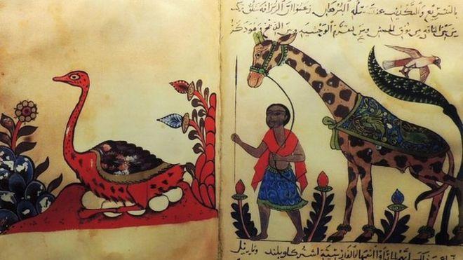 """""""El libro de los animales"""" de al-Jahiz tenía siete volúmenes.  (Getty Images)"""