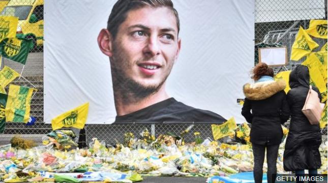 Sala regresaba de Nantes a Cardiff cuando sufrió el accidente en el que perdió la vida. GETTY IMAGES
