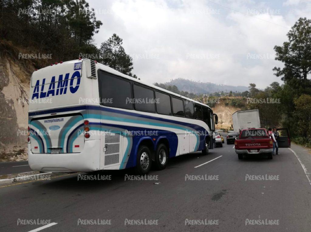 El transporte de pasajeros se ha visto afectado también