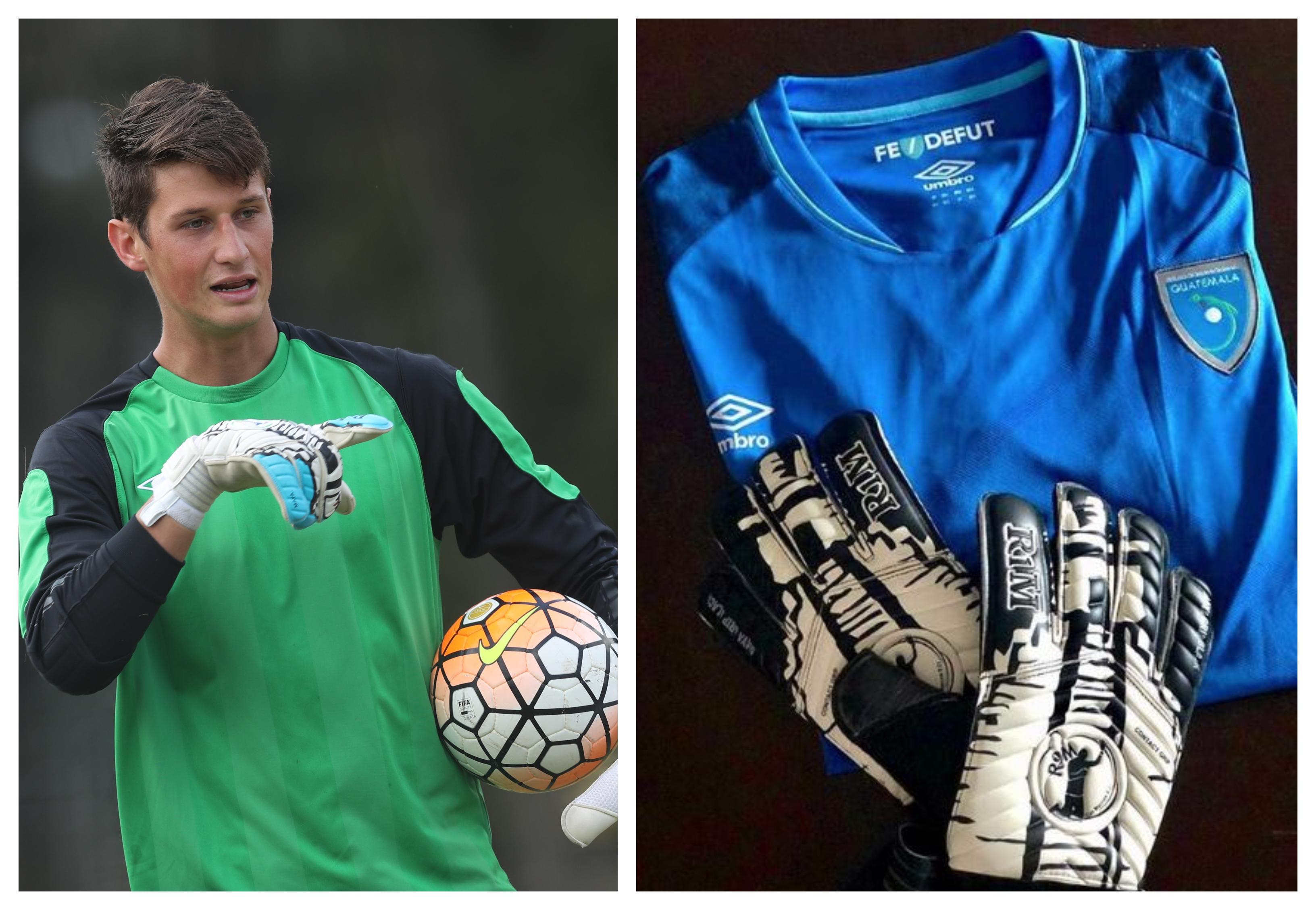 Nicholas Hagen, guardameta de la Selección Nacional. (Francisco Sánchez e Instagram)