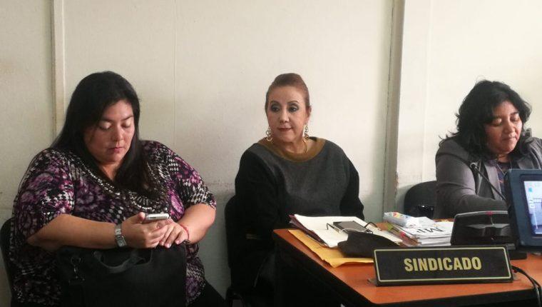 """La magistrada separada de la Corte Suprema de Justicia, Blanca Stalling, dijo que """"no le interesa"""" la visa de Estados Unidos. (Foto Prensa Libre: Juan Diego González)"""