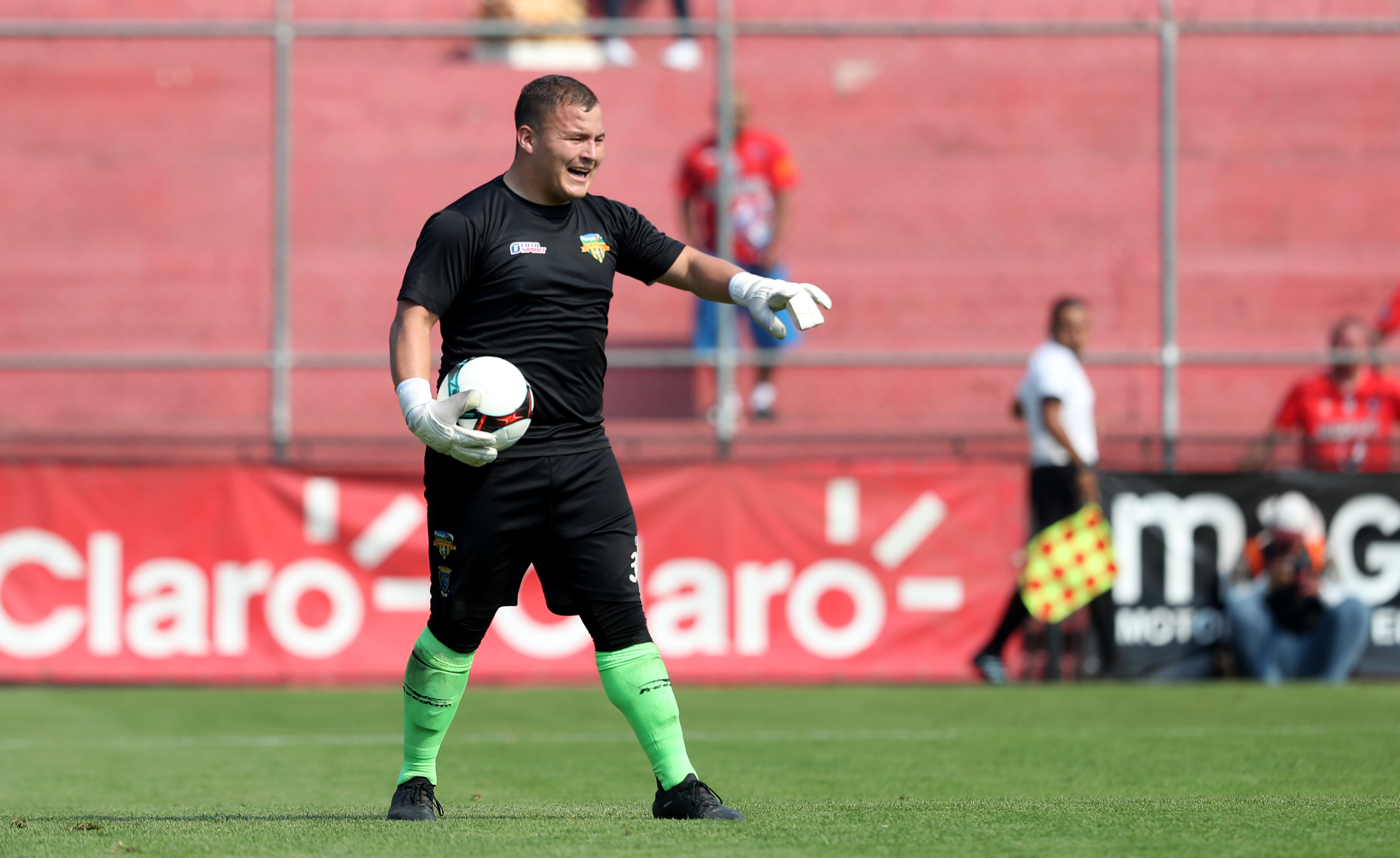 Carlos Ávila, guardameta de Petapa. (Foto Prensa Libre: Francisco Sánchez)