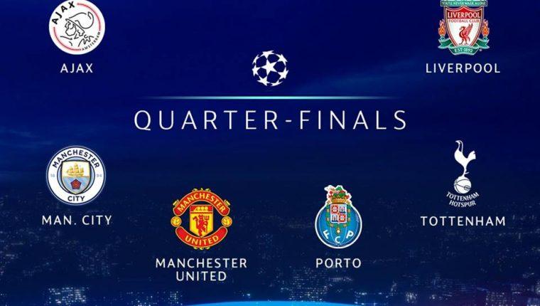 Sorteo de los cuartos de final y semifinales de la Champions League ...