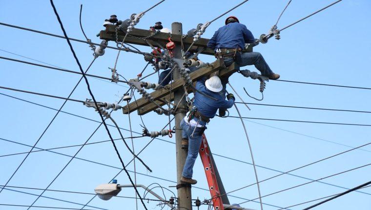 La suspensión del servicio de energía eléctrica durará unas 10 en cuatro municipios de Zacapa. (Foto Prensa Libre: Hemeroteca PL).