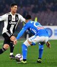 El técnico de la Juventus,  Massimiliano Allegri, indicó que le dará descanso a Cristiano Ronaldo. (Foto Prensa Libre: AFP).