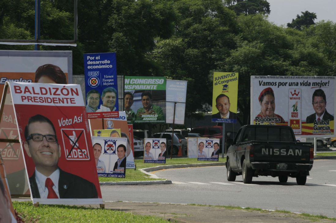 La propaganda de los partidos políticas será regulada por el TSE. (Foto Prensa Libre: Hemeroteca PL)