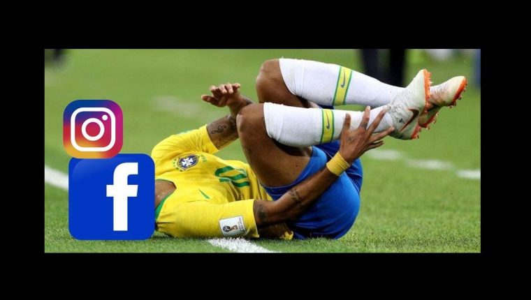 Neymar es protagonista de los memes. (Foto Prensa Libre: Twitter)