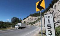 El kilómetro 153 de la ruta interamericana, Nahualá, Sololá, es escenario de múltiples accidentes. (Foto Prensa Libre: César Pérez Marroquín)