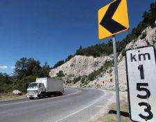 El kilómetro 153 de la ruta interamericana, Nahualá, Sololá, es escenario de múltiples incidentes. (Foto Prensa Libre: César Pérez Marroquín)