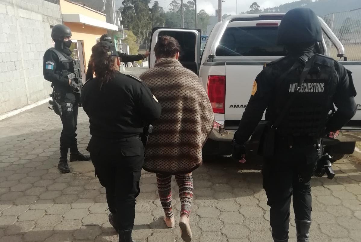 Capturan a mujer señalada de haber planificado su secuestro y por cuya liberación se pagó Q50 mil