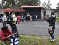 A dos años del incendio ocurrido en Hogar Seguro, cineastas presentan un proyecto que retrata lo ocurrido.  (Foto Prensa Libre: Cortesía Casa Comal)