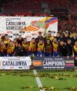 La selección de Cataluña superó a Venezuela en partido amistoso. (Foto Prensa Libre: Redes)