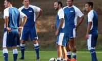 José Manuel Contreras será el capitán de Guatemala frente a Costa Rica. (Foto Prensa Libre: Carlos Vicente)