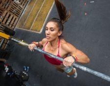 Vera Valdez se coronó en el Open de Guatemala y ahora participará en el CrossFit Games. (Foto Prensa Libre: Norvin Mendoza).