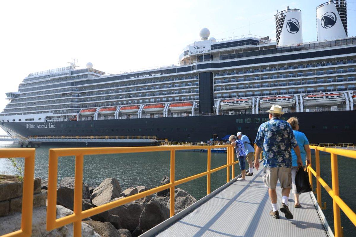 Cruceros vuelven a tener su propia terminal en el Pacífico de Guatemala