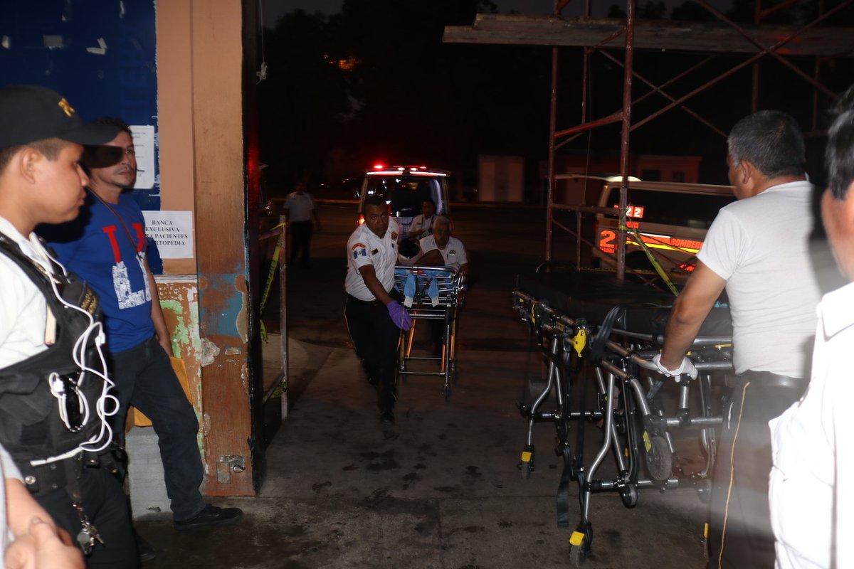 Los heridos fueron atendidos el viernes en el Hospital Roosevelt. (Foto Prensa Libre: Hemeroteca PL)