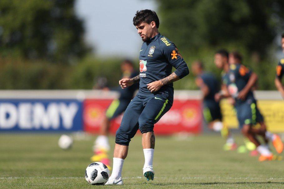 El defensa del Corinthians Fágner fue convocado para la selección de Brasil. (Foto Prensa Libre: @CBF_Futebol)