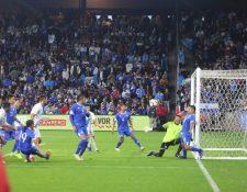 La Selección de Guatemala quedó en vergüenza contra El Salvador. (Foto Prensa Libre: Fedefut)