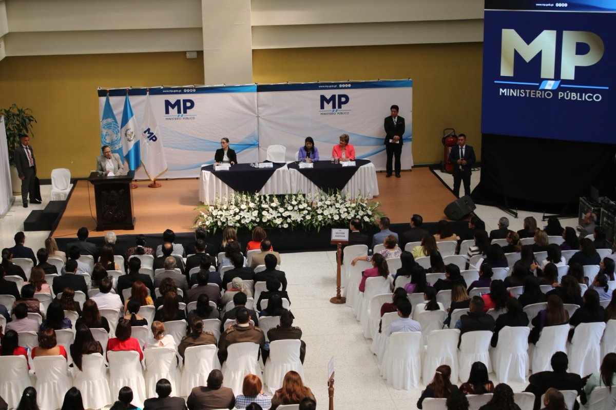 El protocolo de acoso sexual laboral en el MP será socializado entre las dependencias de esa institución. (Foto Prensa Libre: MP)