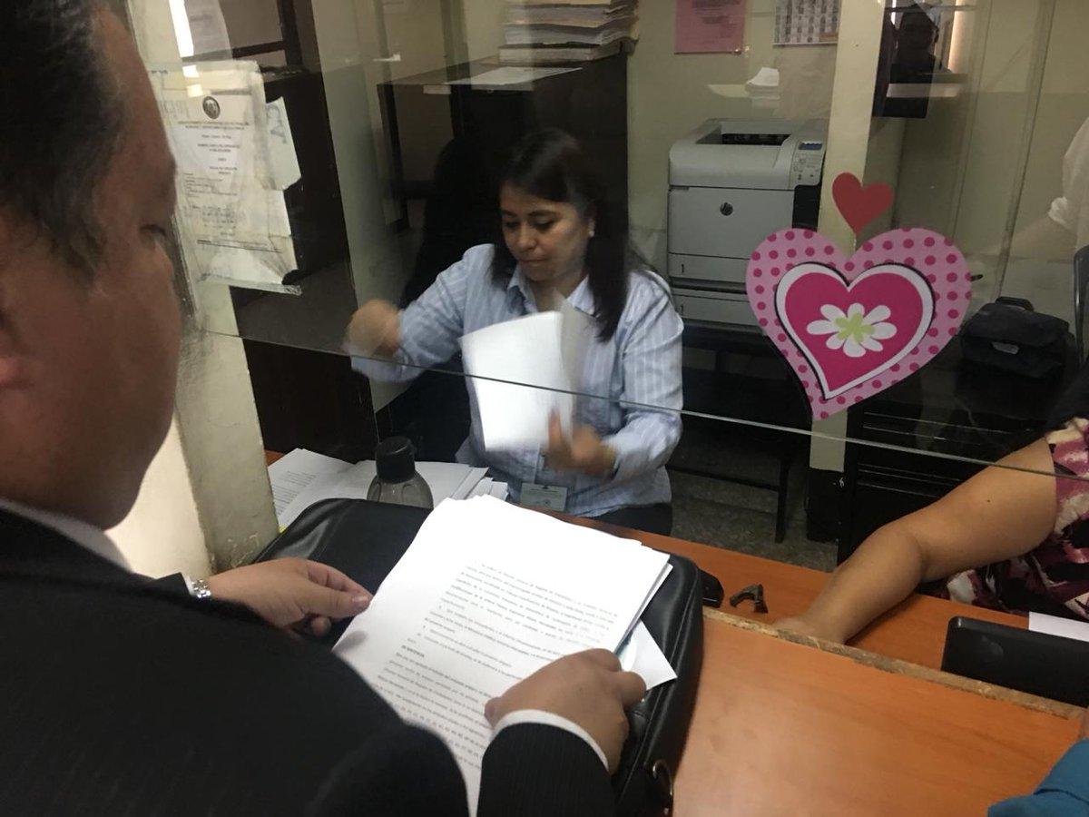 Abogado Marcelo Sarti acciona contra la inscripción de Thelma Aldana. (Foto Prensa Libre: Hemeroteca PL)